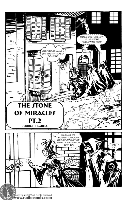 The Stone Of Miracles Pt 2 Pg1