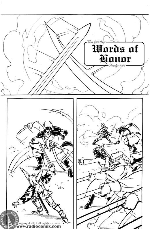 Words Of Honor Pg01