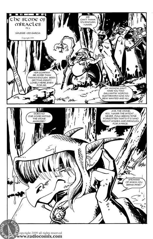 The Stone Of Miracles Pt 1 Pg1