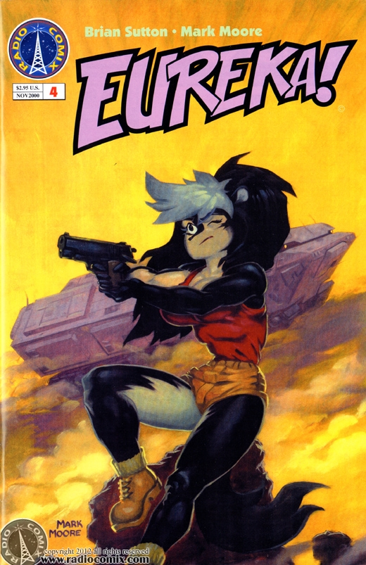 Eureka! issue 4, cover