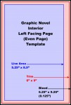 Graphic Novel, Even Pages Template