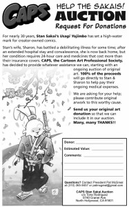 CAPS donation form